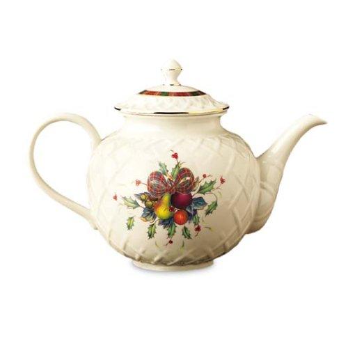 Buy lenox holiday teapot