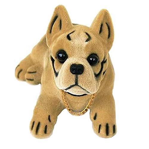 Resin Ornaments Decorative Bobble Head Car Dog Shook Head Puppy Doll, K