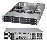 SuperServer 6027R-E1R12T Barebone System - 2U Rack-mountable - Intel C602 Chipset - Socket R LGA-2011 - 2 x Processor