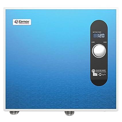 Bon Eemax EEM24036 Electric Tankless Water Heater, 36Kw, Blue