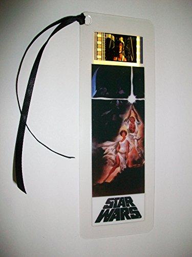 STAR WARS A NEW HOPE Movie Film Cell Bookmark memorabilia