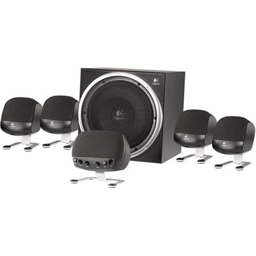 Find a Logitech Z-640 6 Speaker Surround Sound System