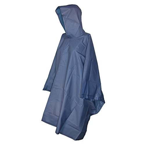 Totes Navy Blue Adult Rain Poncho by totes