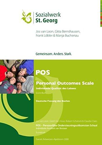 POS - Personal Outcomes Scale: Individuelle Qualität des Lebens