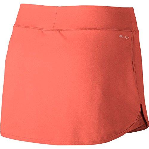 W NKCT Pure Skirt Women's Tennis Skirt, LT Wild Mango/White, Small by Nike (Image #2)