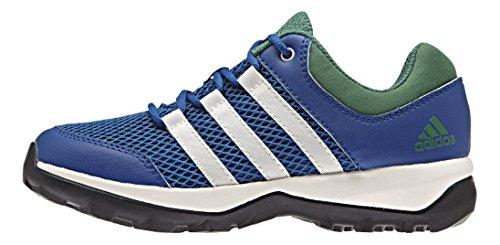 adidas Daroga Plus K, Zapatillas de Deporte Unisex infantil Azul / Blanco / Verde (Eqtazu / Blatiz / Verpal)