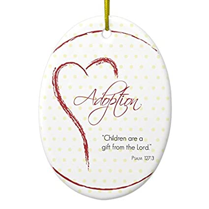 Funny Christmas Ornaments for Kids Adoption, Religious, Yellow Dots with  Red Heart Ceramic Ornament - Amazon.com: Funny Christmas Ornaments For Kids Adoption, Religious