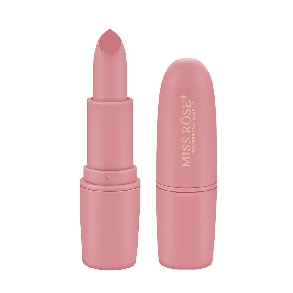 💗 Orcbee 💗 _Miss Rose Lipstick Matt Waterproof Long Lasting Lip Cosmetic Beauty Makeup