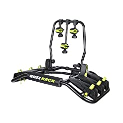 BUZZ RACK Entourage 3-Bike Platform Hitch Rack, Fat Bike Compatible with Additional Purchase of The kit