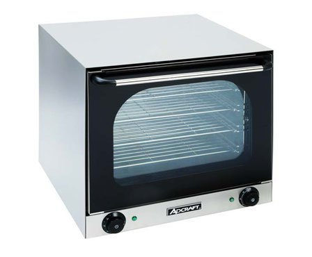 Adcraft COH-2670W Half-Size Electric Countertop Convection Oven, 220v, NSF