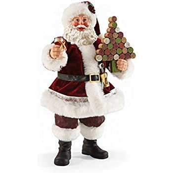 Department 56 Possible Dreams by North Pole Pinot Santa 10.5 In