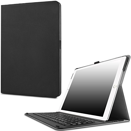 iPad Pro 12.9 Keyboard Case- Infiland Ultra-thin Smart Stand Cover Case with (Keyboard Pencil)