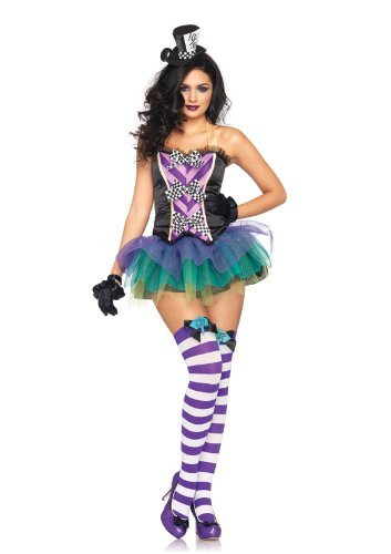 Tempting Mad Hatter Adult Costume - Small