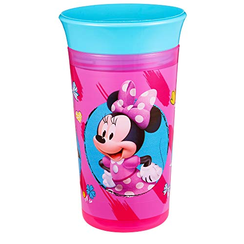 The First Years Disney Baby Simply Spoutless Cup, Minnie Mouse, 9 Ounce