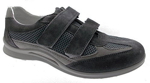 Loren - Zapatos de cordones para hombre gris gris