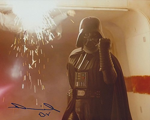 DANIEL NAPROUS as Darth Vader - Star Wars GENUINE AUTOGRAPH