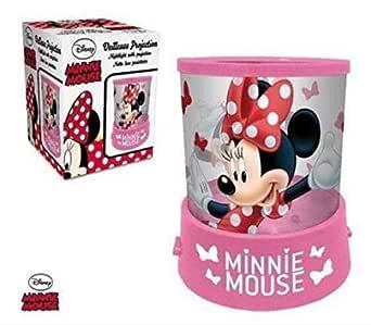 Lamparilla batería DISNEY Minnie Mouse Proyector en color ...
