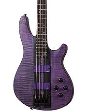 Schecter C-4 GT Bass - Satin Trans Purple