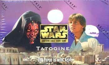 Star Wars Customizable Card Game Tatooine Booster Box