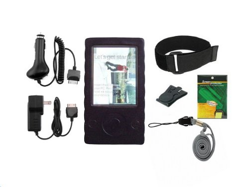 iShoppingdeals - 7 Item Accessory Bundle For Microsoft Zune 30GB 1st Gen