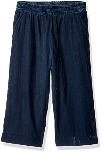 Gymboree Girls' Big Culotte Pants, Frosty Cord Blue, XS by Gymboree