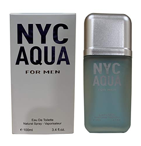 Compared to CAROLINA HERRERA 212 MEN AQUA for Men, Eau De Toilette Spray, Purity, Perfect Gift, for all Skin Types, 3.4 Fl Oz
