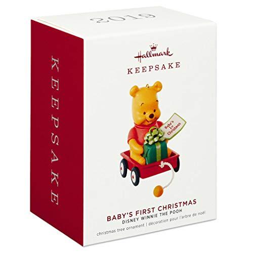 Hallmark Keepsake Ornament 2019 Year Dated Disney Winnie The Pooh Baby