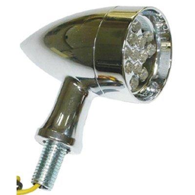 Bkrider Marker Turn Signal Lights for All Harley Models Clear LEDs that Light Amber (C01075489)