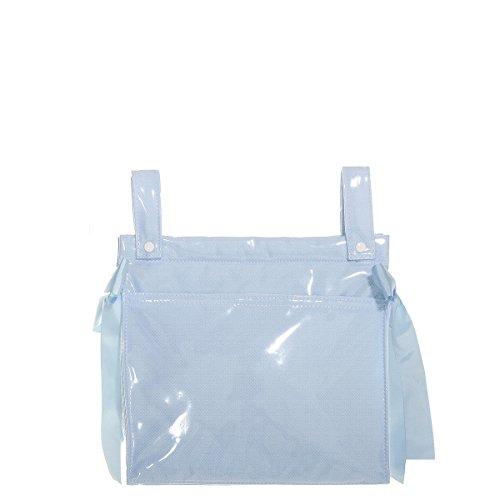 Uzturre - Bolso plastificado de piqué azul