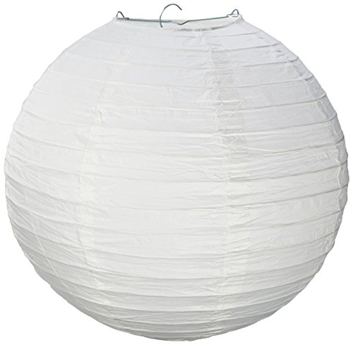 Science Purchase GEN75465 White Paper Lantern Lamp Shades 12 Pack, 13