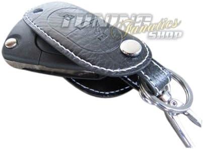 Llave funda estuche llavero llaves Llave piel blanco 2: Amazon.es: Coche y moto