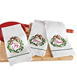 Best Collections Etc Bath Towels - Collections Etc Joy Christmas Holiday Kitchen Towel Set Review