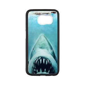 Jaws Samsung Galaxy S6 Cell Phone Case White