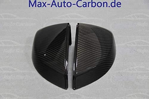 MAX AUTO Carbon Spiegelkappen Aussenspiegel Mirror Cover passend f/ür A3 S3 RS3 8V mit Side Assist