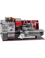 VEVOR Metal Lathe 7x12 Inch,Brushless Motor Mini Bench Lathe Maintenance Free,Mini Metal Variable Speed 50-2500 RPM, for Mini Precision Parts Processing