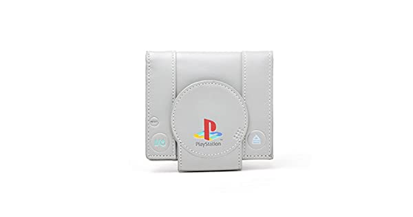 Amazon.com: Sony Playstation Console Shaped Bifold Wallet ...