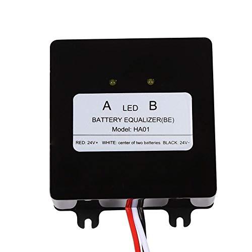 PowMr Battery Equalizer Voltage Balancer for 24V 36V 48V Lead-Acid Gel Flood AGM Battery Bank HA01