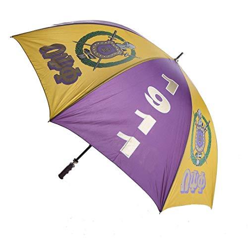 Omega Psi Phi Fraternity 30'' Jumbo Umbrella (Umbrella Omega)