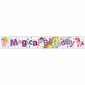 Simon Elvin - Cartel de cumpleaños mensaje Magical Birthday ...