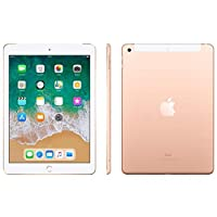 Novo Ipad Apple, Tela Retina 9.7, 128gb, Dourado, Wi-fi + Cellular - Mrm22bz/a