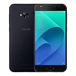 ASUS ZenFone 4 Selfie Pro (ZD552KL) 4GB / 64GB 5.5-inches Dual SIM Factory Unlocked - International Stock No Warranty (Deepsea Black)