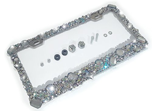 License Crystals Iridescent Sparkly Sparkle product image