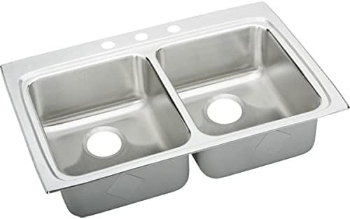 Elkay LRADQ3322605 Sink, Stainless Steel
