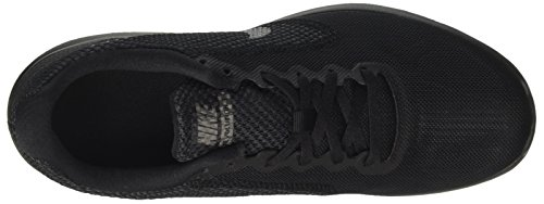 Nike Herren Revolution 3 Laufschuhe Schwarz (Black / Metallic Dark Grey / Anthracite)