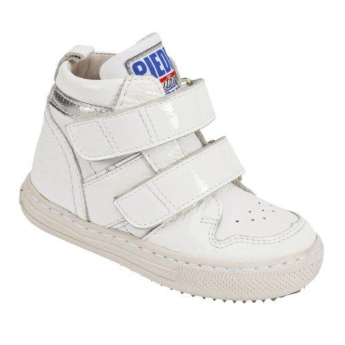 Nextstep 2264–thérapeutique pour enfants Chaussures, cuir Blanc, dentelle, largeur 4,5, Large, 24