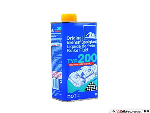 - ATE 706202 Original TYP 200 Racing Quality DOT 4 Brake Fluid - 1 Liter