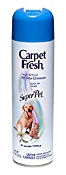 Carpet Fresh 10 oz No-Vacuum Super Pet (Pack of 6)
