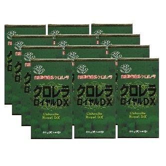 【12個1ケース】ユウキ製薬 クロレラロイヤルDX 1550粒x12個セット(4524326200563) B00OL9VB1S