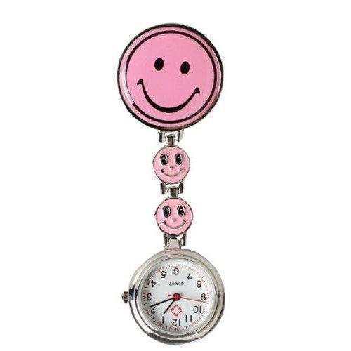 18 opinioni per Collection&Joy Orologio da infermiere con sorriso-Giallo (Tre faccina