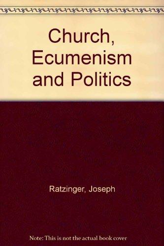 Church, Ecumenism and Politics